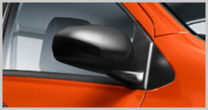 TWO TONE SIDE MIRROR
